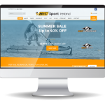 inview web design - BicSport Ireland