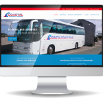 inview web design - Coastal Coach Travel