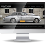 inview web design - Classic & Vintage Wedding Cars