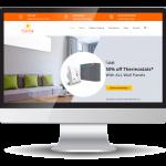 inview.ie eCommerce website design - pureheat.ie